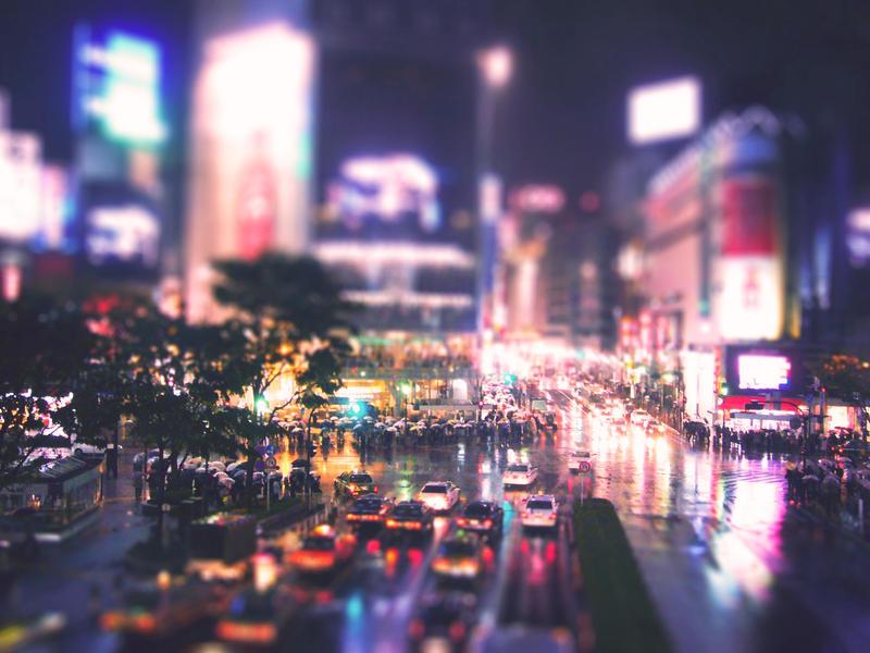 Shibuya by vanerich