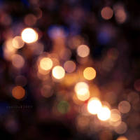 christmas bokeh by vanerich