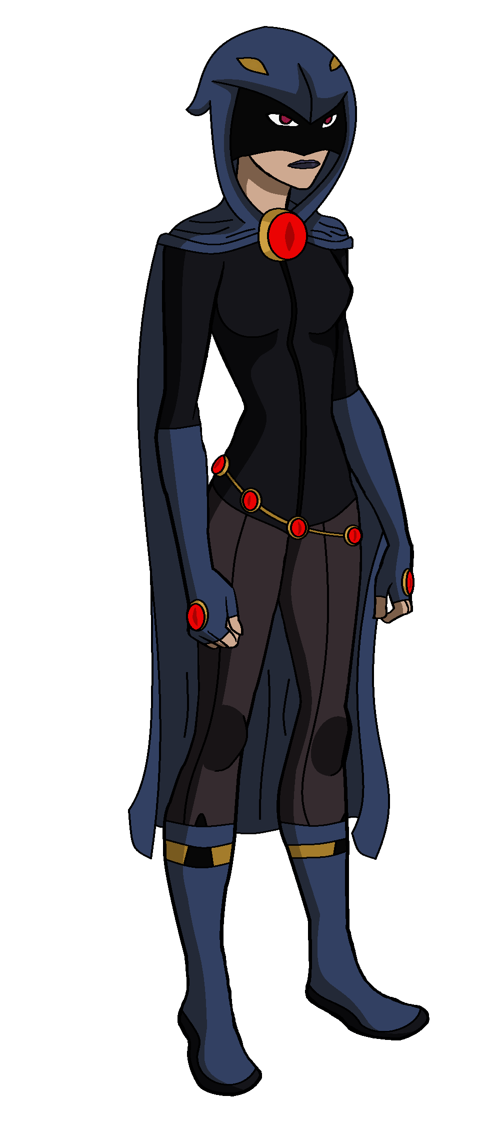 Young Justice Raven by...
