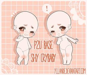P2U BASE: shy crybaby