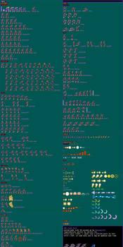 Vile - Maverick Hunter X Style Sprite Sheet