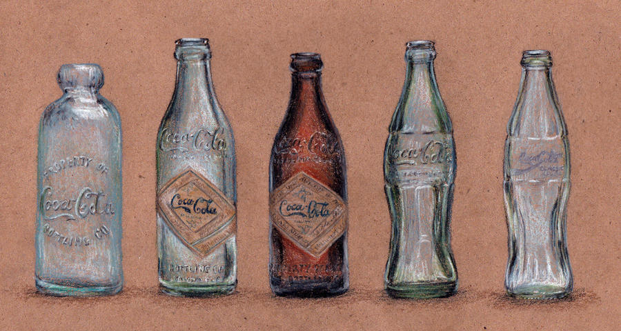 Coke Bottles by KristynJanelle