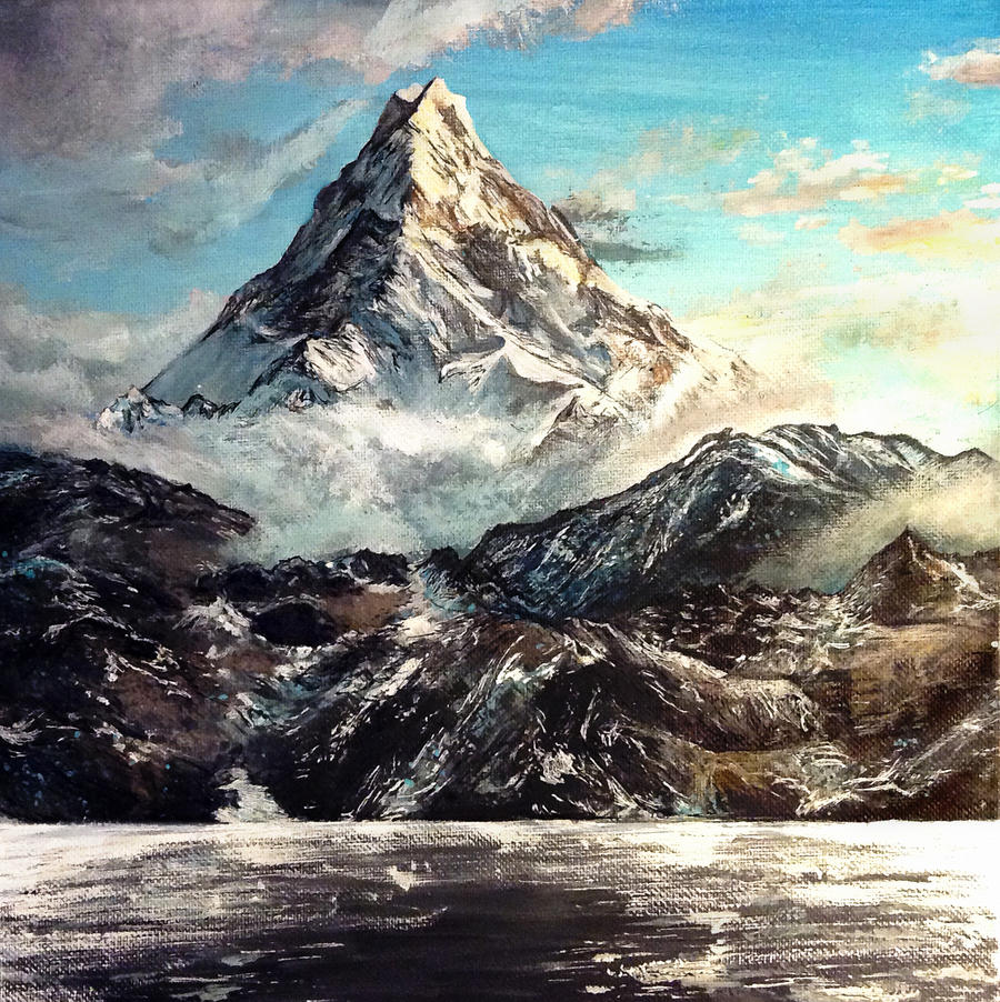 The Lonely Mountain by KristynJanelle