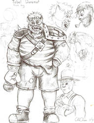 Tebel the pirate king by Bareck