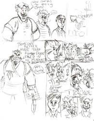 Rakuth comic by Bareck