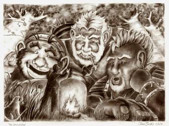 The Storyteller by Bareck