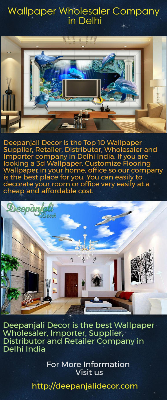 Best Wallpaper Wholesalers In West Delhi By Deepanjalidecor ...