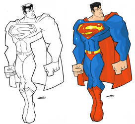 The Man of Steel by Wolf-Signs