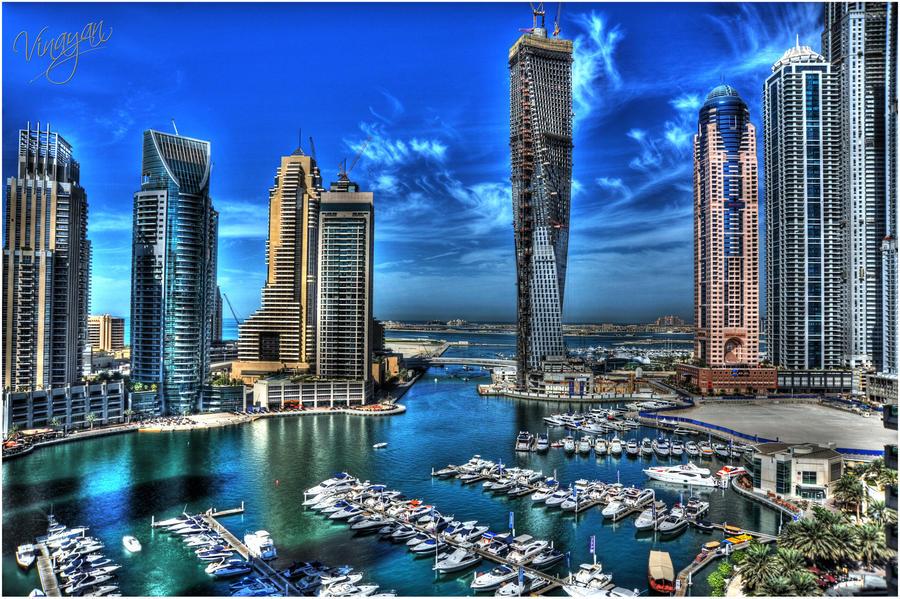 Dubai Marina HDR 1 by vinayan