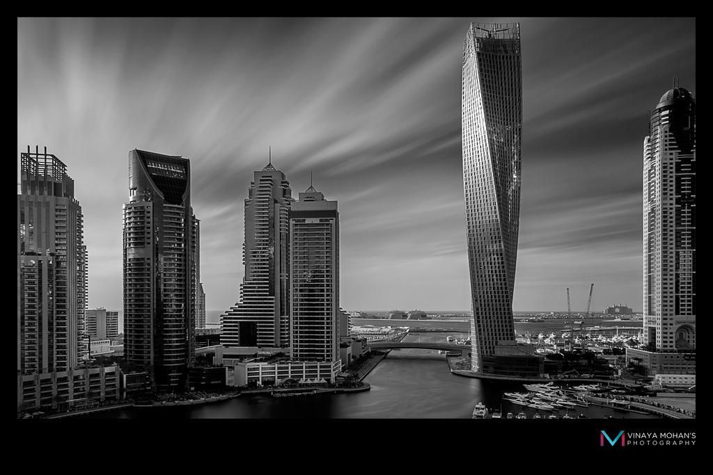 Dubai Marina BW LE by vinayan