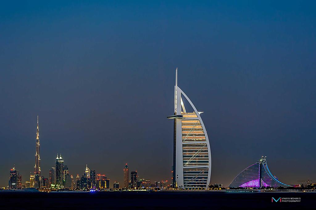 prestigious Dubai by vinayan