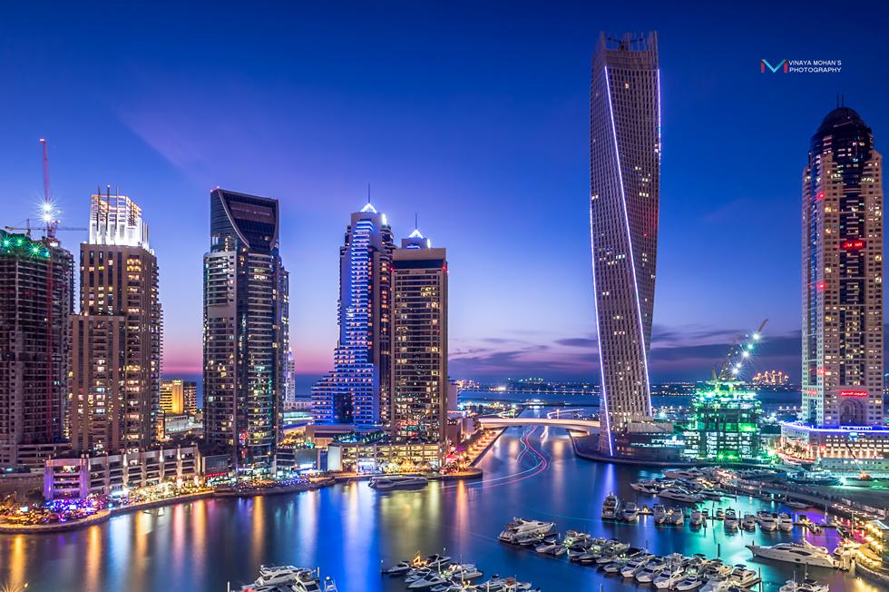 Dubai-Marina by vinayan