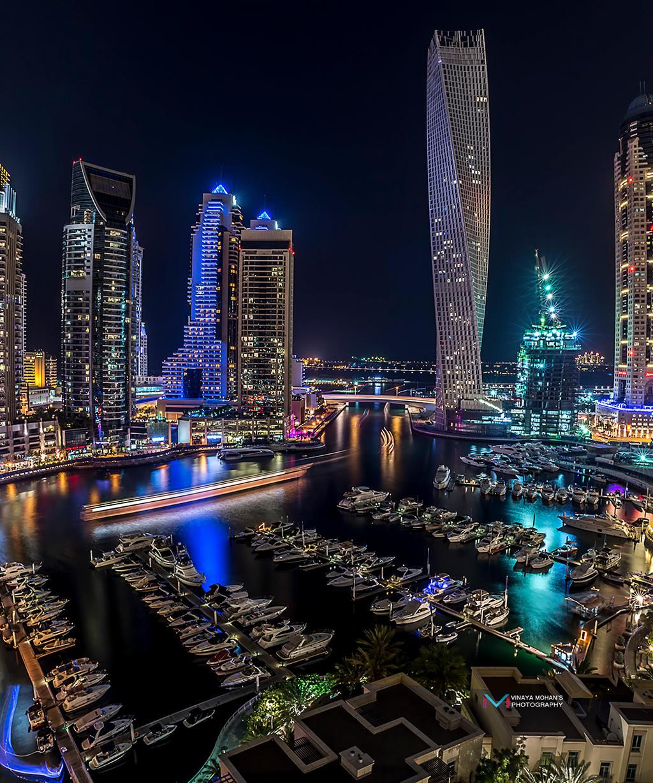 Dubai Marina by vinayan