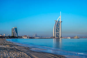 Burj Al Arab by vinayan