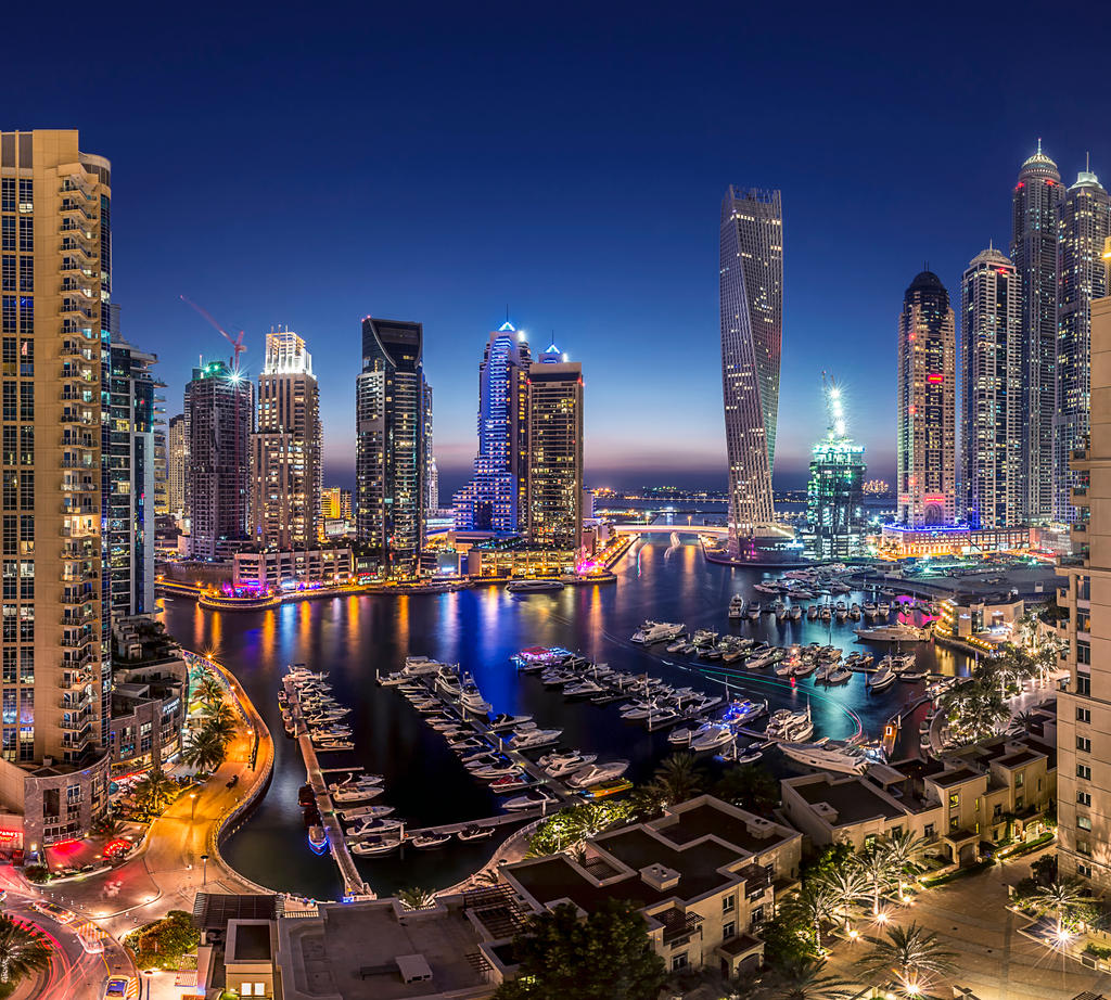 Dubai Marina VP by vinayan