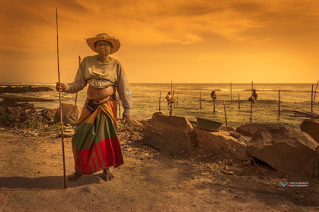 traditional Fisherman srilanka by vinayan