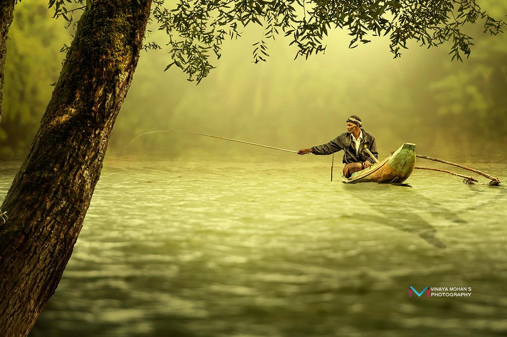 Fishing by vinayan