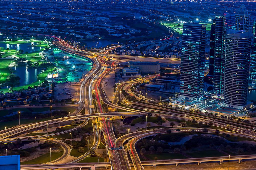 Veins of Dubai by vinayan