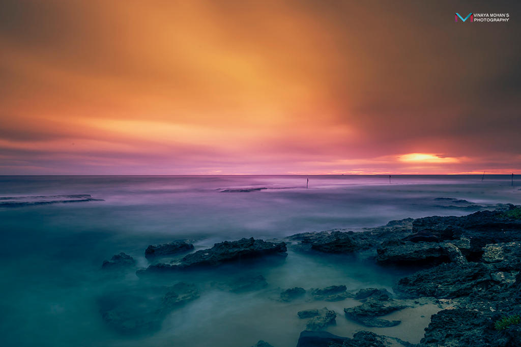 Sunset in Srilanka by vinayan