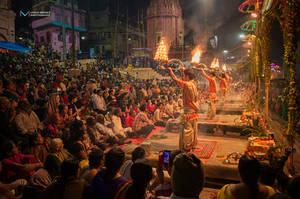 Ganga Aarthi by vinayan