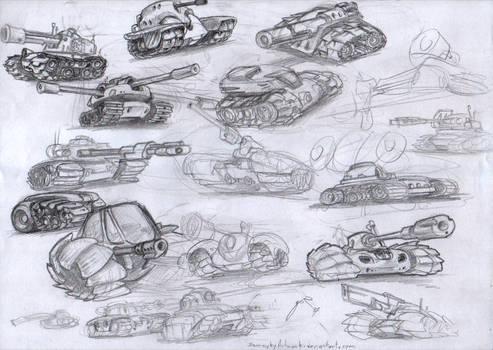 Tank Sketches