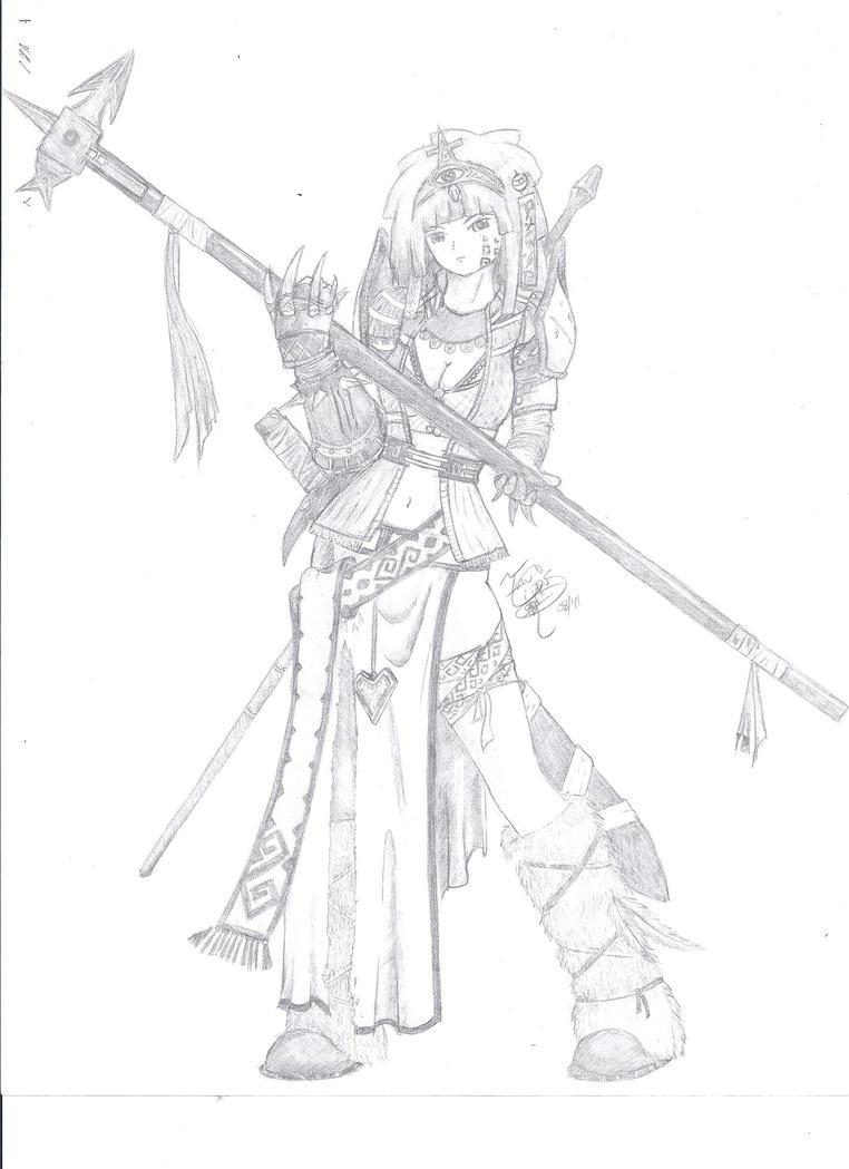 Yggdra, Rage Prophet by cirrus13