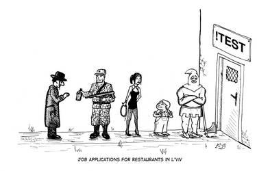 Job Applications in L'viv by Lysycja