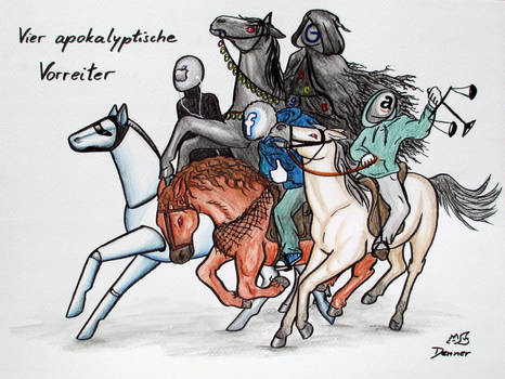 Vier apokalyptische Vorreiter
