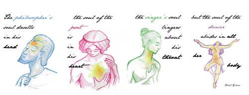 Khalil Gibran: The Dancer by Lysycja