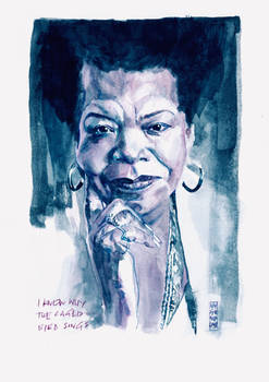 Maya Angelou. I Know Why the Caged Bird Sings