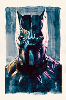 Black Panther. Chadwick Boseman