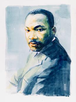 Martin Luther King Jr. Portrait