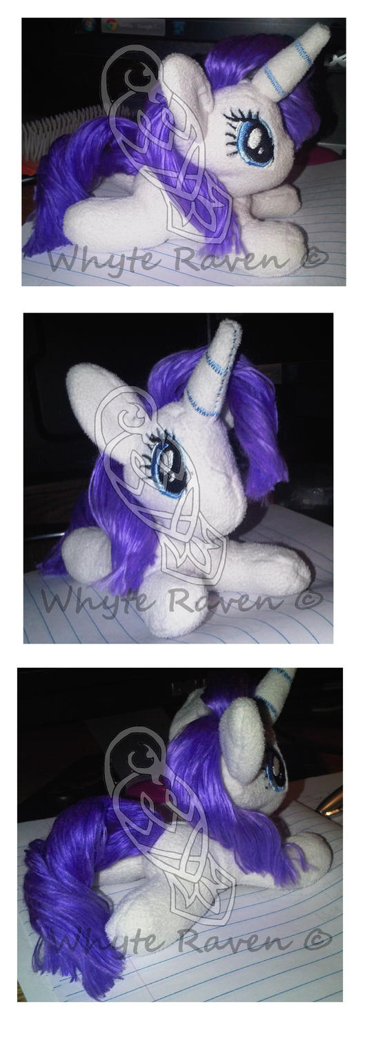 New Rarity Teeny Plushie by Whyte-Raven