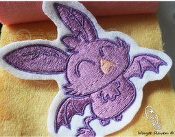 MLP Cute Baby Vampire Fruit Bat Patch *SOLD* by Whyte-Raven