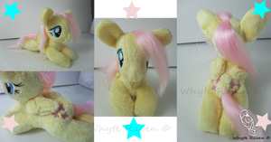 Fluttershy MLP Plushie by Whyte-Raven