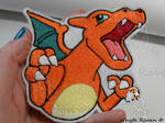 Charizard Trozei Embrodiery Patch