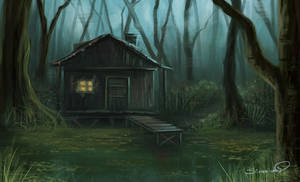 Swamp House speedpaint