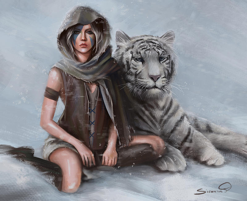 White Tiger by Sicarius8