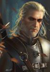 Geralt of Rivia Witcher 3