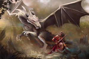 Dragon Slayer by Sicarius8