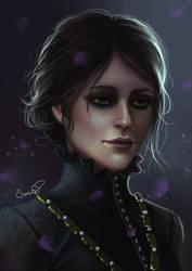 Iris von Everec (Witcher 3: Hearts of Stone) by Sicarius8