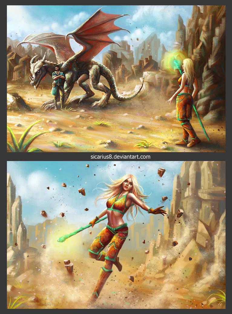 Dragon 01 by Sicarius8