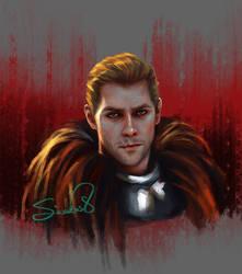 Commander Cullen (Dragon Age Inquisition) by Sicarius8