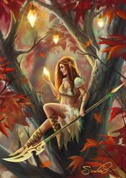 Autumn Pixie by Sicarius8