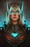 Sci-fi Girl by Sicarius8