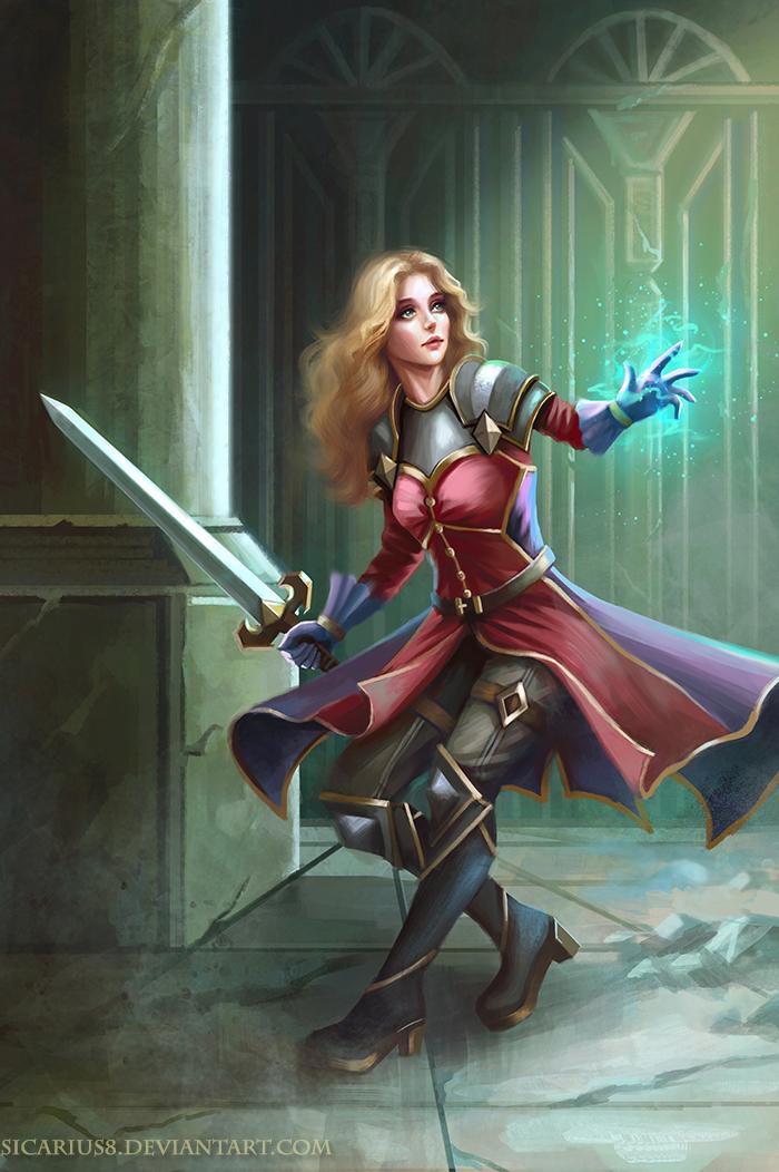 Sword And Spells by Sicarius8