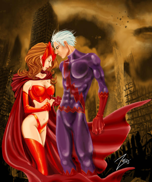 Quicksilver And Scarlet Witch Lovers ScarletWitch Quicksilv...