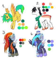 Pony Adoptables #008: CLOSED by Raponee