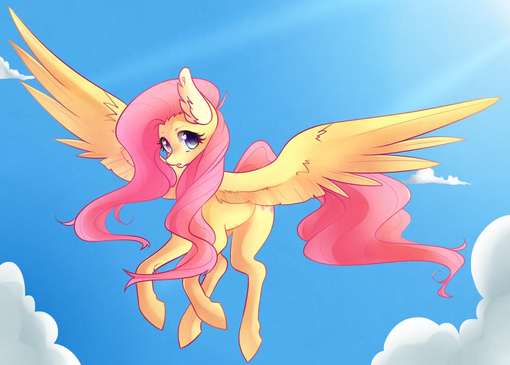 Fluttershy by Raponee