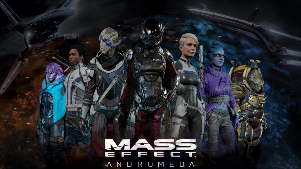 Mass Effect Andromeda Wallpaper: Mass Effect: Andromeda Wallpaper By CrimsonDaeva On DeviantArt